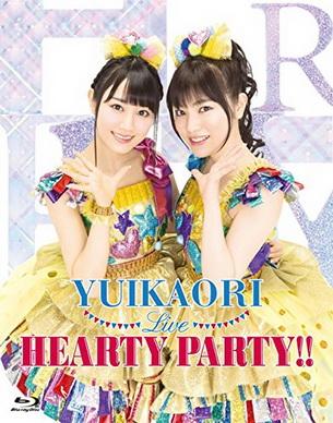 [TV-SHOW] ゆいかおり(小倉唯&石原夏織) – ゆいかおりLIVE HEARTY PARTY!! (2015.06.03)