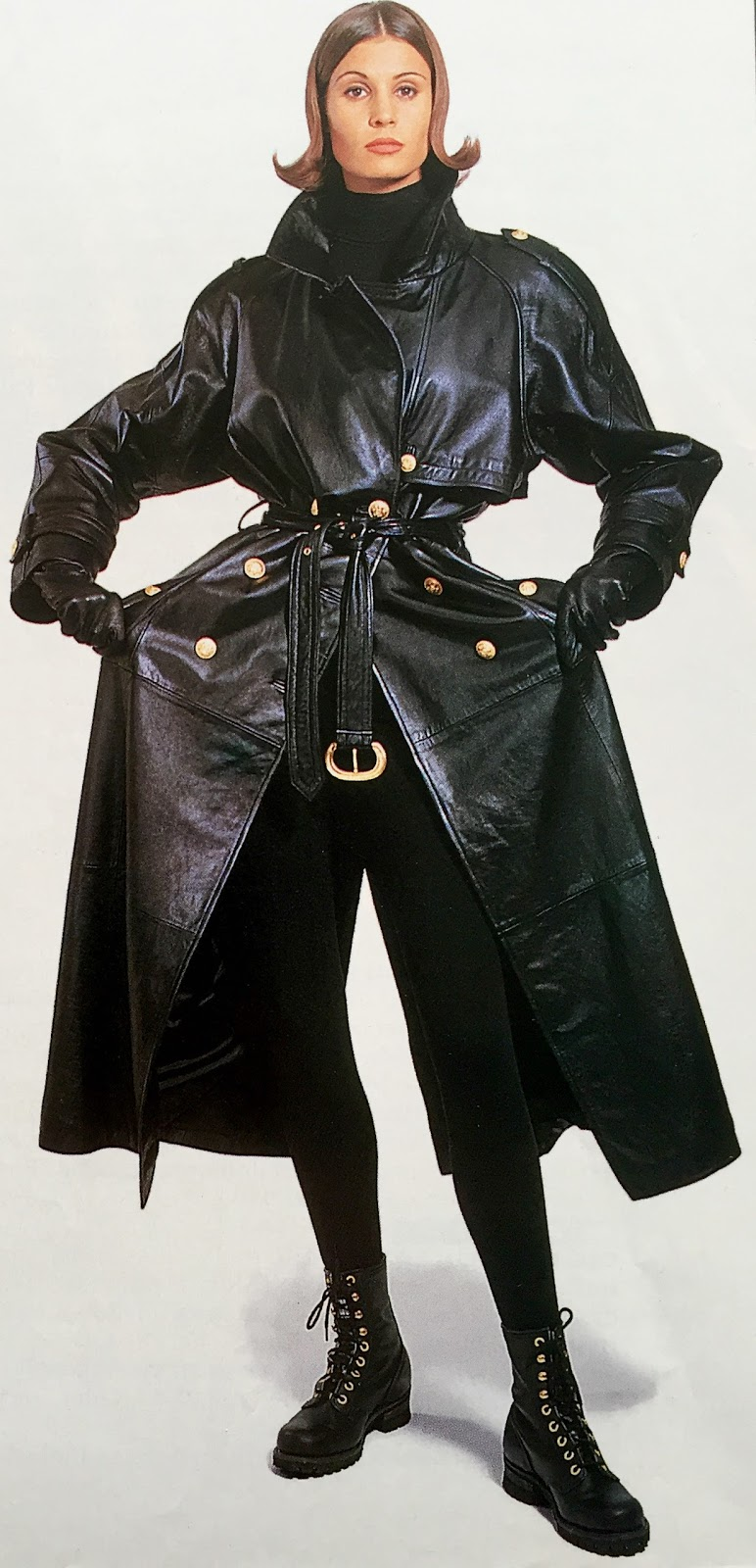 Classic Leather Trench Coat Leather Daydreams1992 Coat jGMVpLUzSq