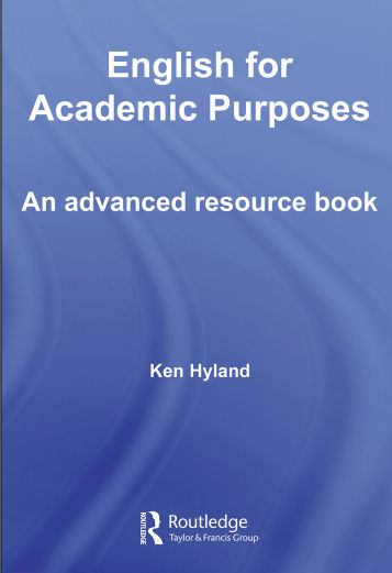 English for Academic Purpose by Ken Hyland