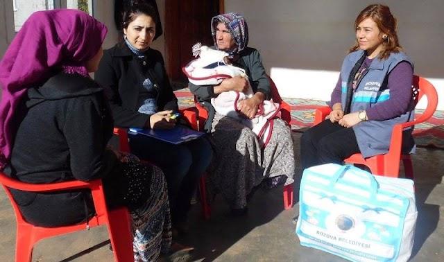 Bozova'da Hoş geldin Bebek kampanyası