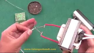 Cara Membuat Solder dari Trafo Bekas