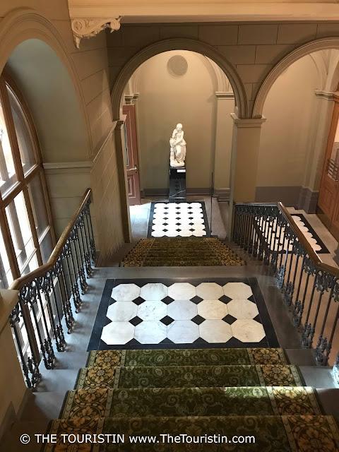 Art Museum Riga Bourse doorway staircase