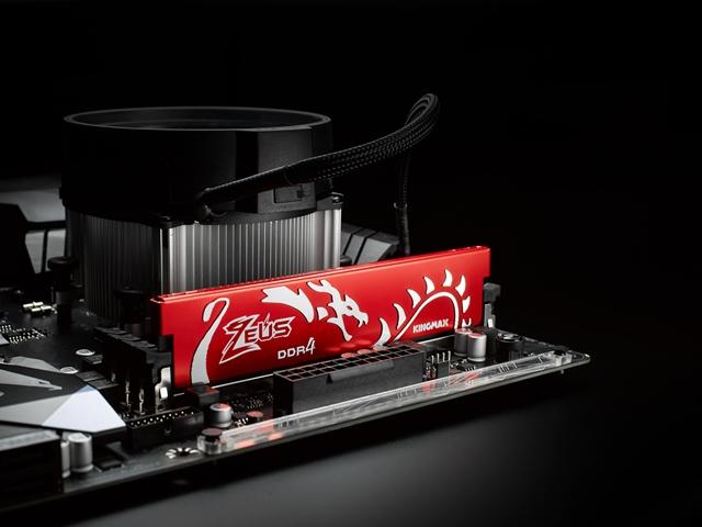 Kingmax Unleashes Zeus Dragon DDR4 Memory Modules