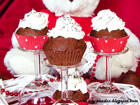 Piernikowe gryczane muffiny (bez glutenu, cukru białego, laktozy)