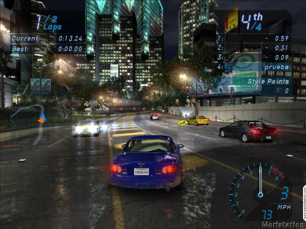Need For Speed UnderGround 1 Full Version PC Game - bpoooo ...