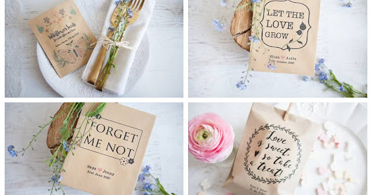 Cheap & Cheerful Wedding Favours with a Touch of Whimsy