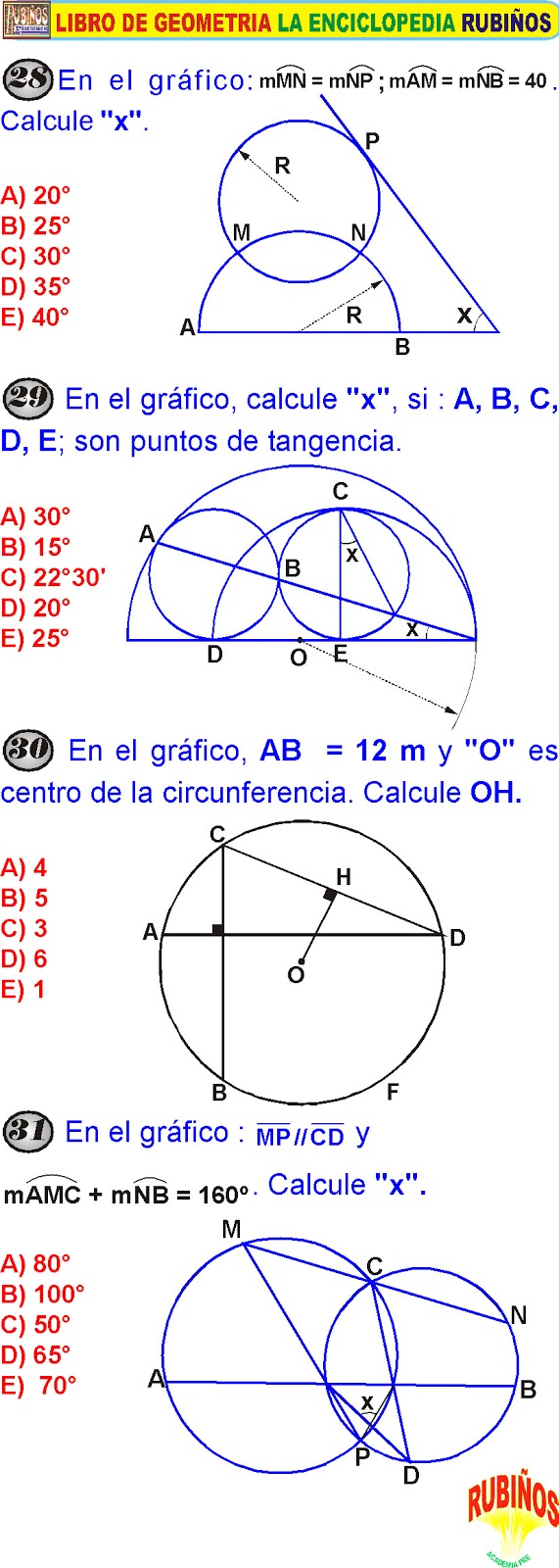 Diagrama de venn ejercicios resueltos para nic3b1os electrical circunferencia ejercicios con respuestas de geometr a rh matematicasn blogspot com ccuart Gallery