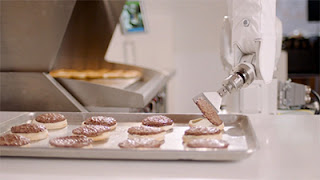 Flippy - hamburger chef robot