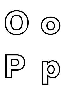 litera o p do druku