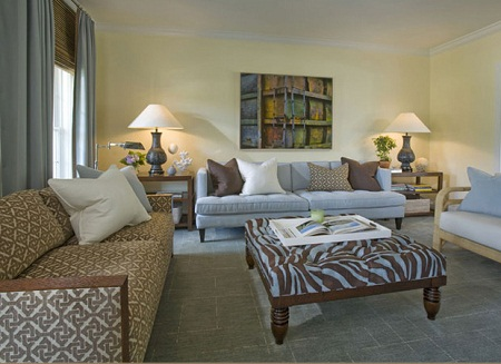 Blue and Brown Living Room Decorating Ideas | Living Room ...