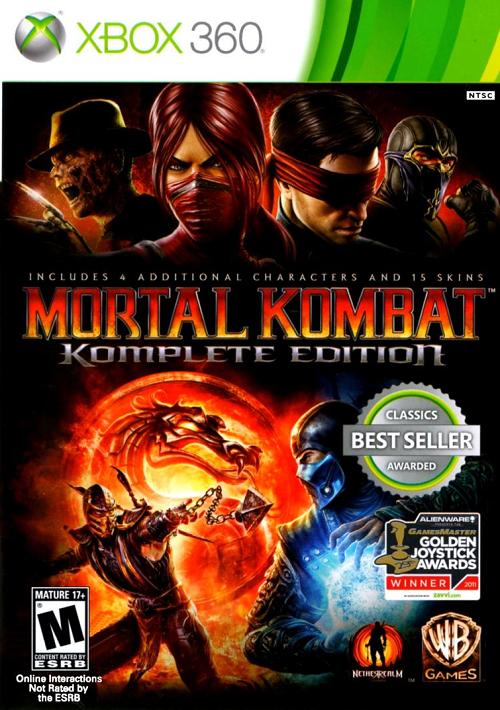 Mortal Kombat: Armageddon - ROM/ISO - XBOX Game Download