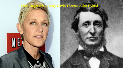 Is Ellen DeGeneres a real clone from history.
