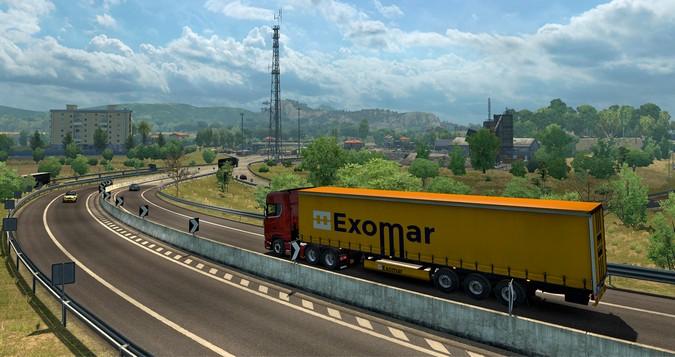 Euro Truck Simulator 2 recebe nova expansão do mapa