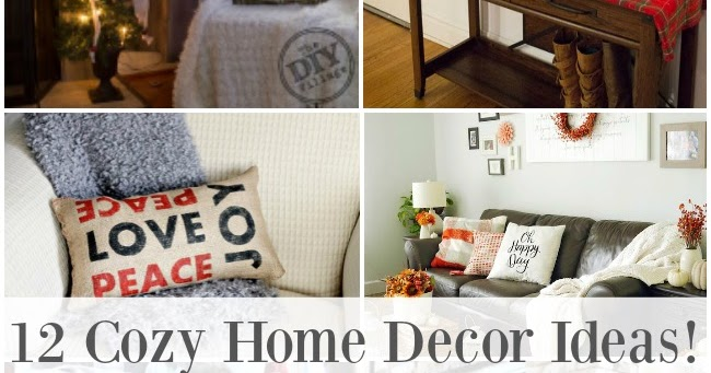 12 cozy home decor ideas my love 2 create for Home decor 2 love