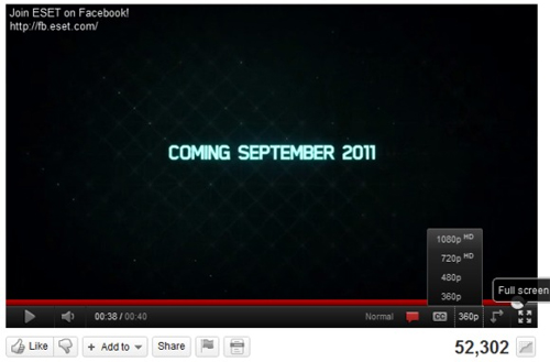 YouTube has received support 1080p mode HTML5 - Your News Ticker