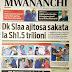 Habari Zilizopo Katika Magazeti ya Leo Jumatatu ya May 14.