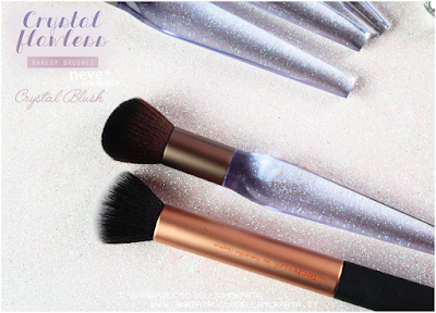 Crystal blush comparazione NeveCosmetics Crystal Flawless Brushes