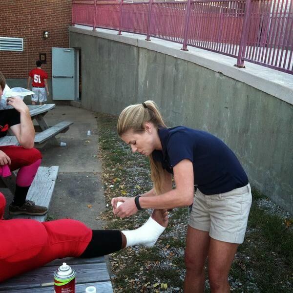 Saint Louis University Athletic Training Program: 2013