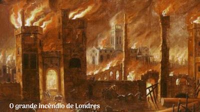 O grande incêndio de Londres