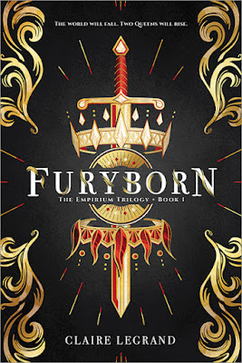 Furyborn by Claire Legrand book cover