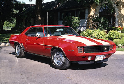 1969 Chevy Camaro Z28, Classic Muscle Cars Image Gallery