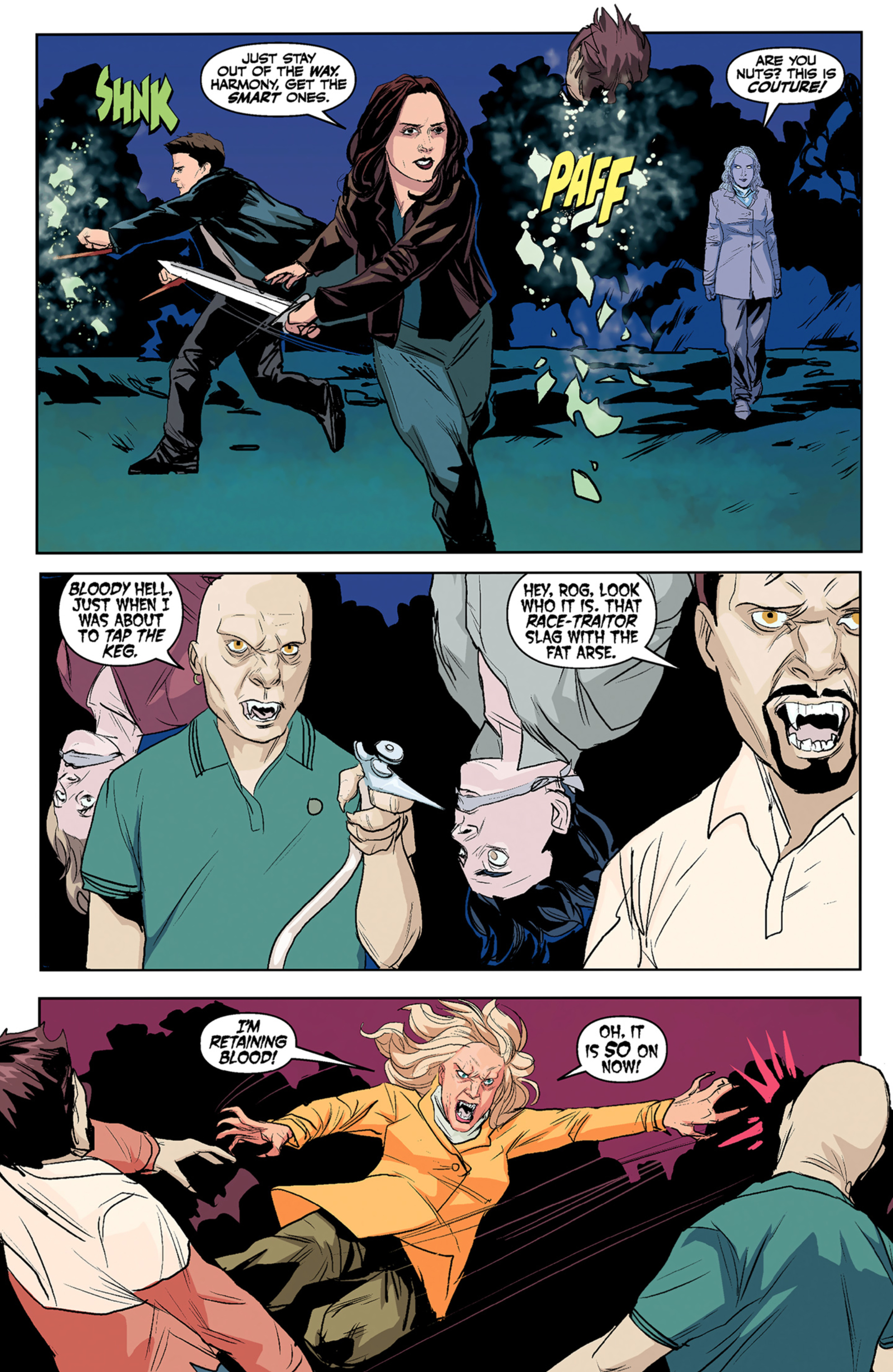 Read online Angel and Faith comic -  Issue #5 - 11