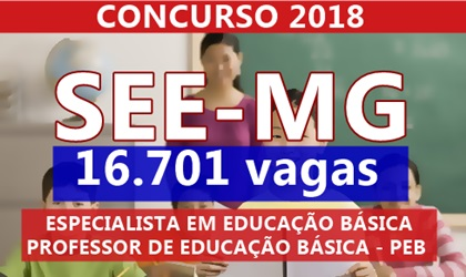 Concurso Professor SEE-MG 2018
