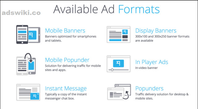 Hilltopads ad formats types compaigns