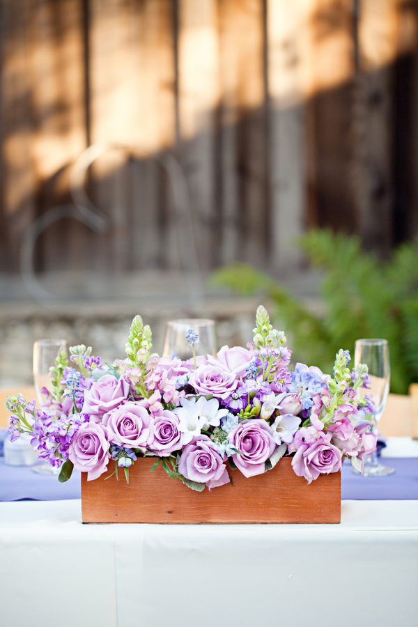 Bride+bridal+vineyard+winery+wine+purple+violet+Lavender+centerpieces+roses+dried+rustic+outdoor+spring+wedding+summer+wedding+fall+wedding+california+napa+valley+sonoma+white+floral+Mirelle+Carmichael+Photography+13 - Lavender Sprigs