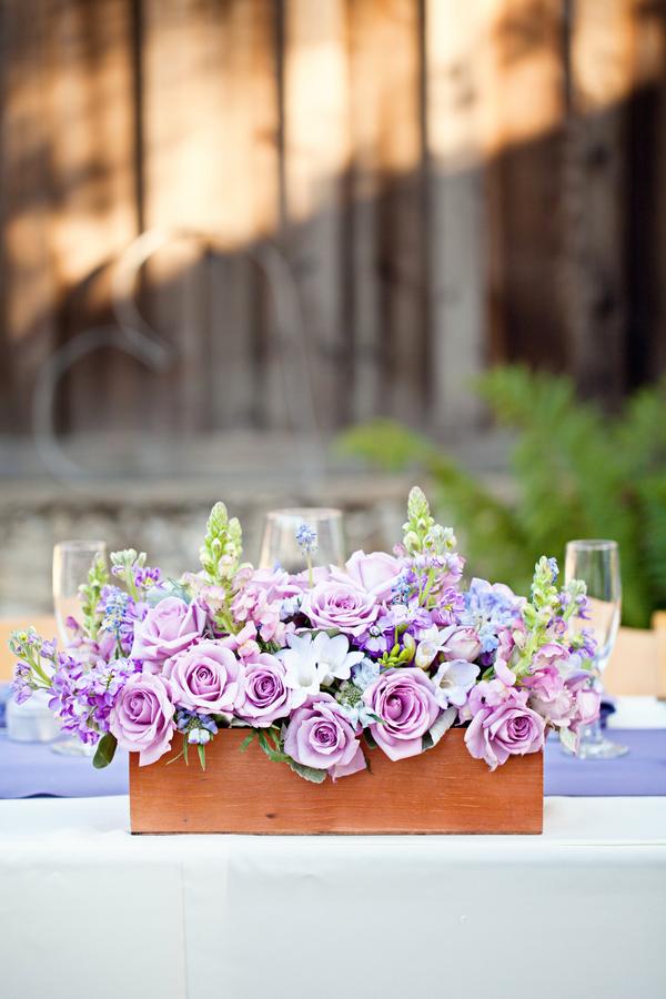 Bride+bridal+vineyard+winery+wine+purple+violet+Lavender+centerpieces+roses+dried+rustic+outdoor+spring+wedding+summer+wedding+fall+wedding+california+napa+valley+sonoma+white+floral+Mirelle+Carmichael+Photography+13 - Lavender Sprigs