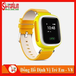 Đồng Hồ Định Vị Trẻ Em V80 - 01