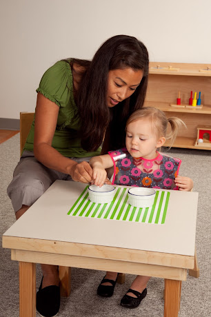 Traditional Montessori Materials In The Infant Toddler