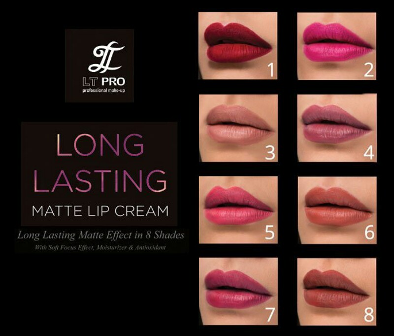 Potted Pinkyrose Review LT Pro Long Lasting Matte Lip