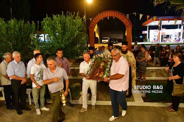 Η εορτή της Αγίας Ευφημίας στο Ναύπλιο (βίντεο)