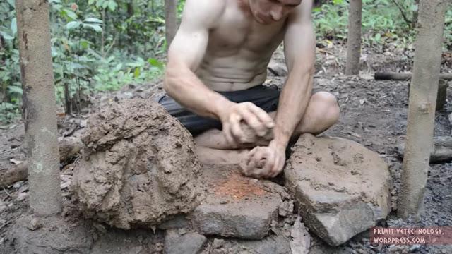 สร้างกระเบื้องดินเหนียว
