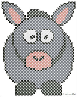 donkey, animal, cartoon, cross-stitch, back stitch, cross-stitch scheme, free pattern, x-stitch, stitch, free, вышивка крестиком, бесплатная схема, хрестик, punto croce, schemi punto croce gratis, DMC, blocks, symbols