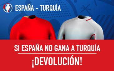 sportium bono 25 euros Euro 2016 España vs Turquia 17 junio