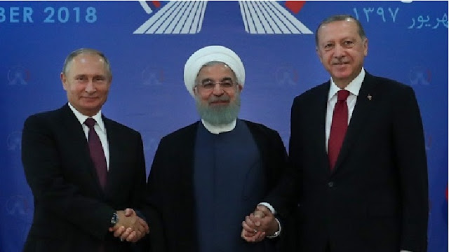 Russia, Iran and Turkish President emphasize on maintaining the independence, sovereignty and geographical integrity of Syria.  In the statement released after the Syria-related talks on Tehran on Friday, it has been given importance.  Referring to 12 issues, the three countries said in a joint statement that mutual cooperation will continue until all the terror groups in Syria are eliminated.  It is said in the statement that the political crisis will be resolved through military, political process and discussion. Co-operation will be done to form a constitutional committee to solve political problems.  Besides, emphasis has been given to all refugees in Syria to return to their homeland and to provide them with peaceful living conditions. In this endeavor, the cooperation of the UN and Relief organizations in the international community, especially the people, has been sought.  At the same time, along with strengthening the work of removing the mines, socio-economic institutions have sought infrastructure for the development and protection of the heritage, Iran, Turkey and Russia.