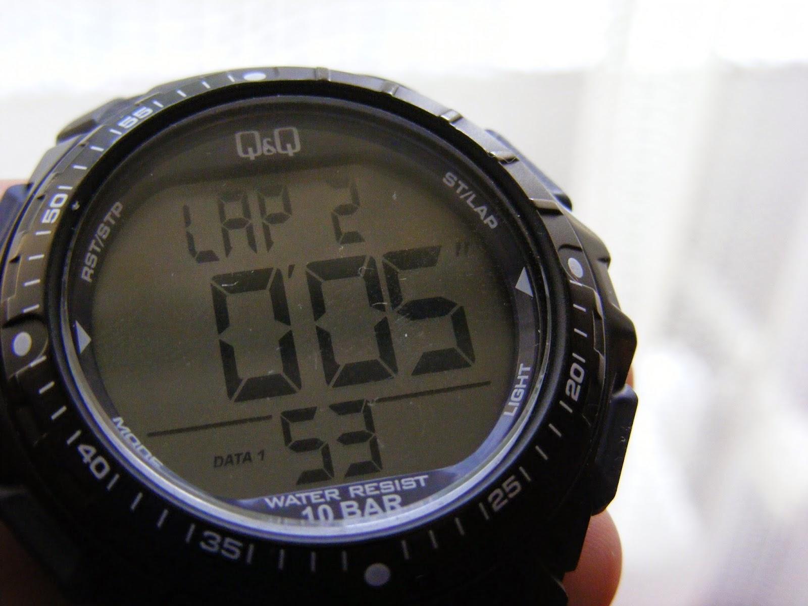sport digital watch lap