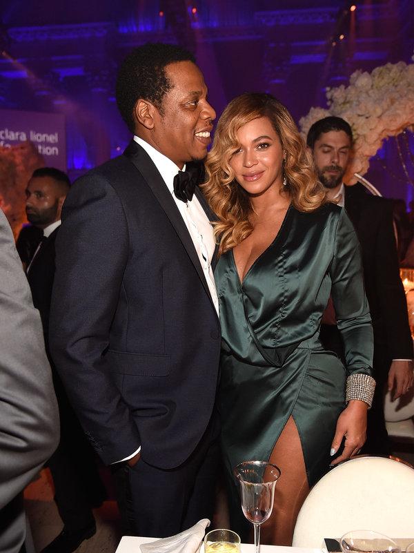 Beyoncé and Jay-Z Attend Rihanna's 2017 Diamond Ball