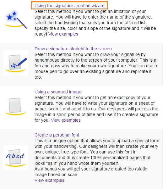 How To Create a Signature - Online - infoBlog