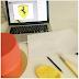 seker hamurundan Ferrari logo yapimi