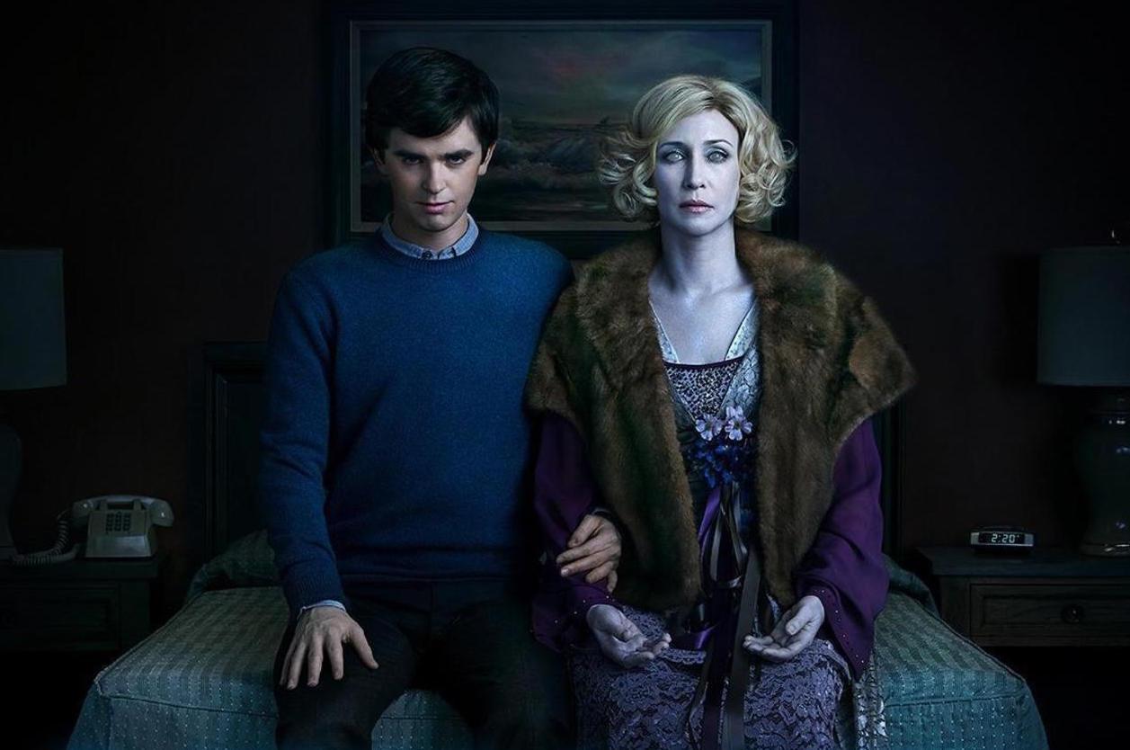 Norma y Norman en el final de 'Bates Motel'