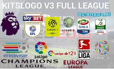 PES 2016 Kits Logo All League V3