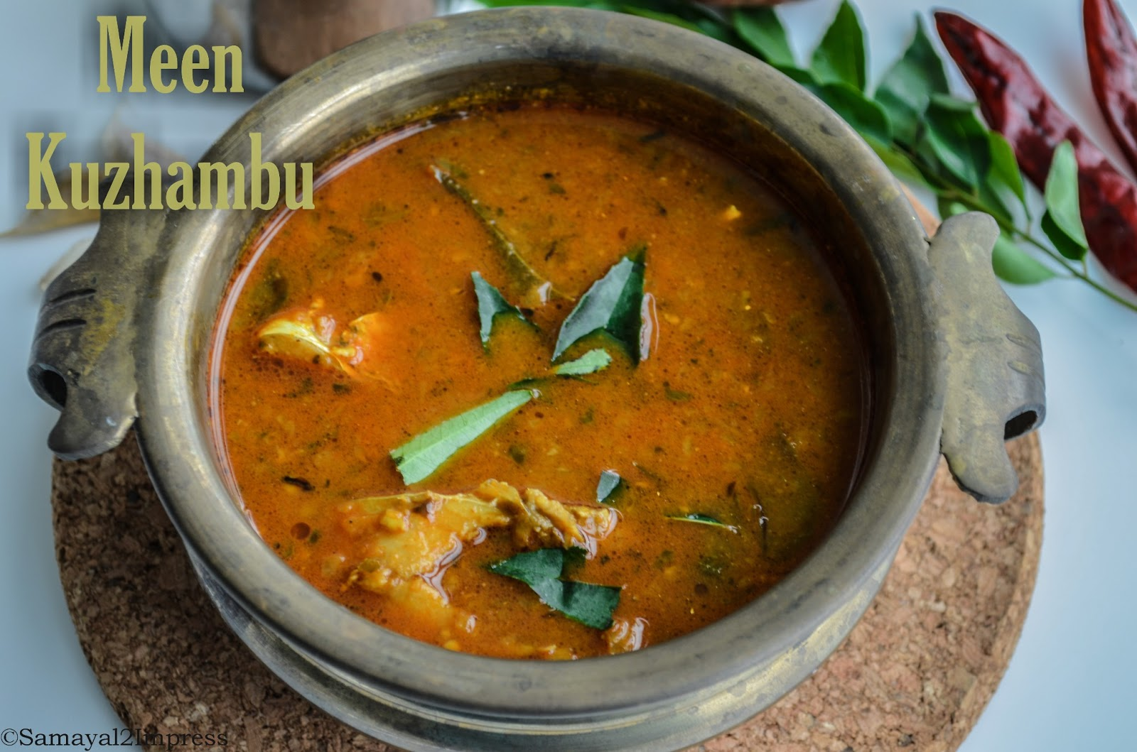 Samayal2impress Meen Kuzhambu Fish Curry