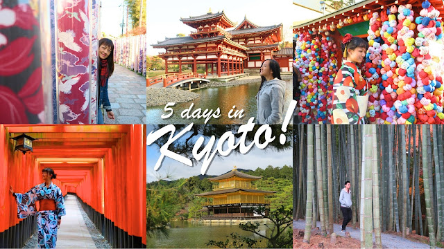 5 days in Kyoto itinerary