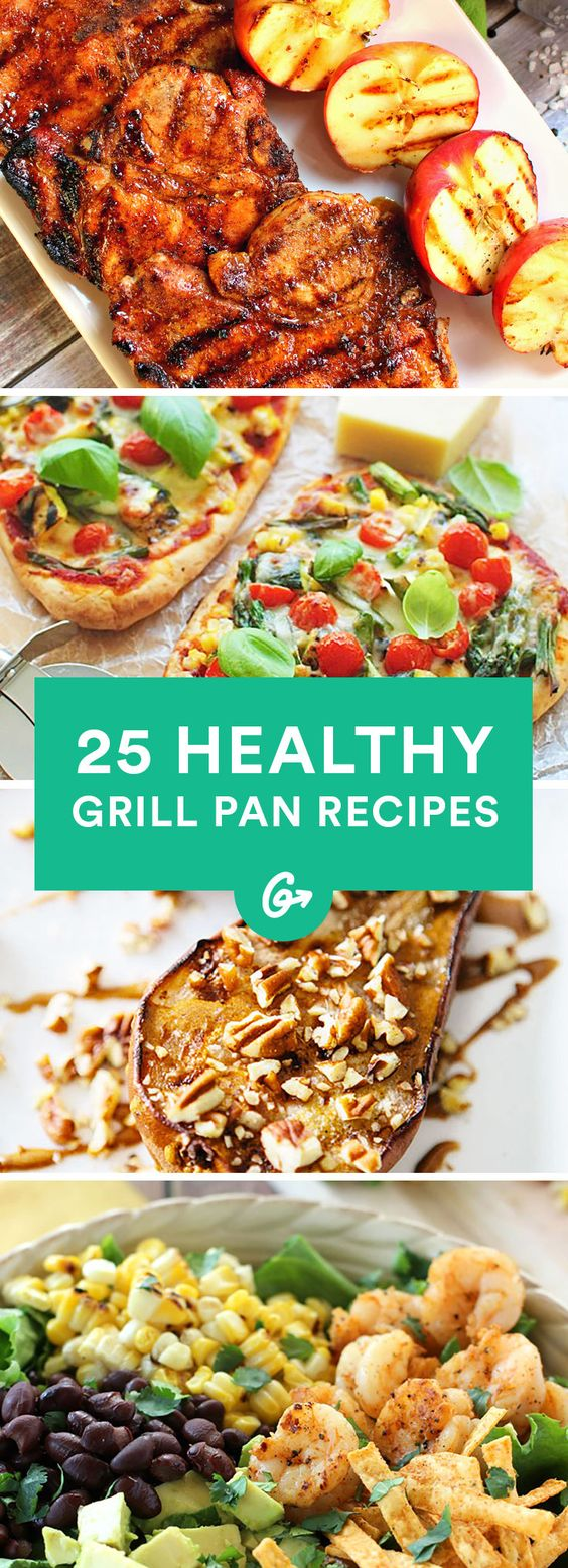25 Grill Pan Recipes You Can Make Year Round