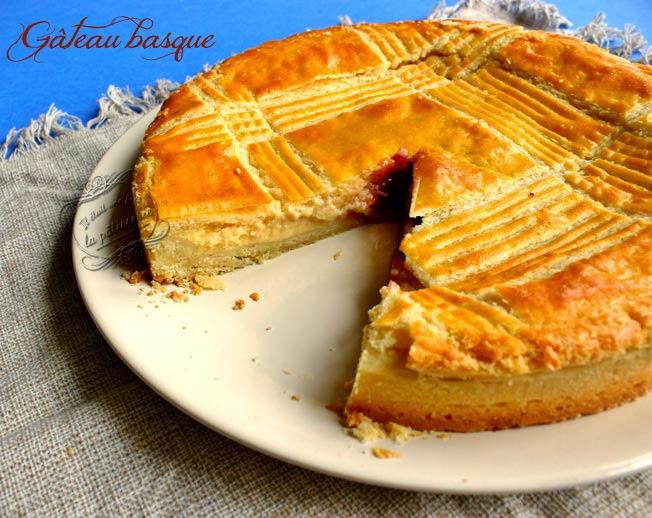 Gateau basque recette