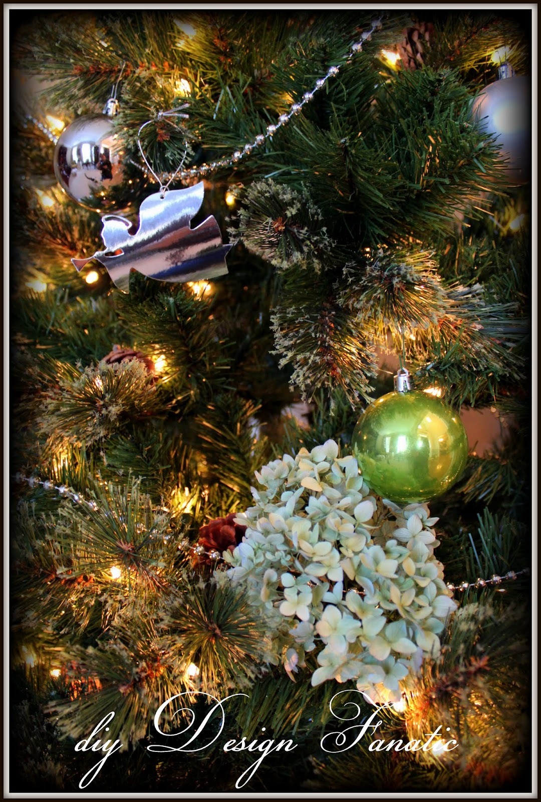 easy sofa table diy single seat beds uk our live christmas tree in family room has a few more ...