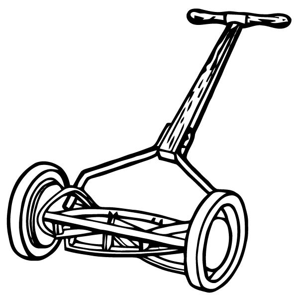 free cartoon lawn mower clipart - photo #48